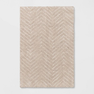 4'x6' Tufted Cotton Chevron Rug - Pillowfort™