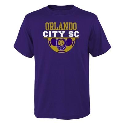 MLS Orlando City SC Boys' Short Sleeve Core T-Shirt