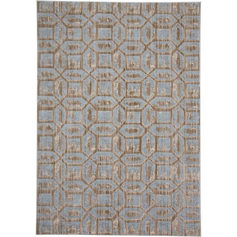 Ice Geometric Loomed Runner - image 1 of 3