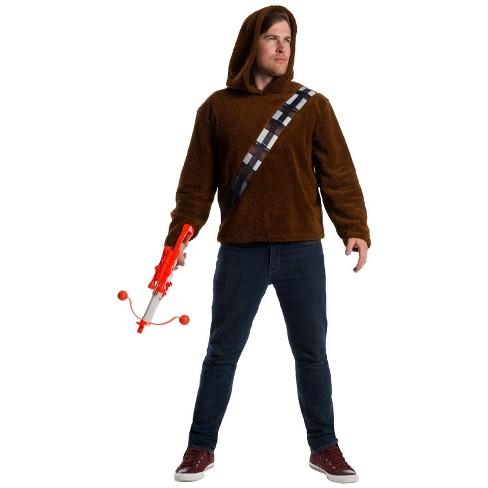 Adult Star Wars Chewbacca Halloween Costume Top - image 1 of 1