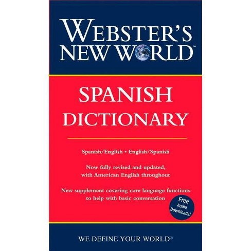Webster's New World Spanish Dictionary - by Harraps (Paperback)