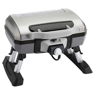 Cuisinart® Outdoor Portable Electric Grill - Silver