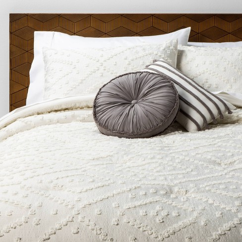 Olympia Clipped Comforter Set - Opalhouse™ - image 1 of 4