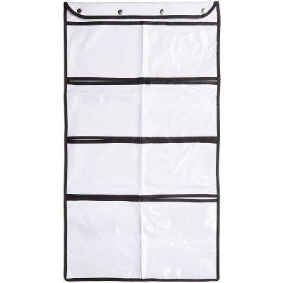 Okuna Outpost 2 Pack Hanging Closet Storage, Double-Sided Organizer Bags (33.75 x 17.5 in)