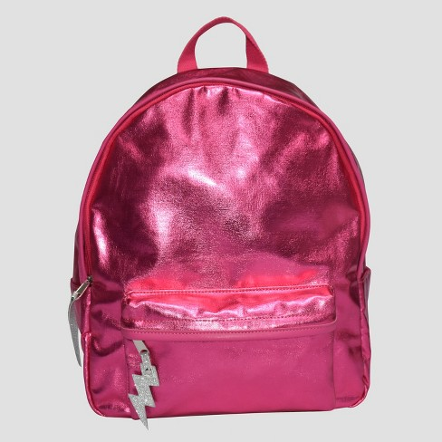 Kids' Metallic Backpack - Cat & Jack™ Pink - image 1 of 2