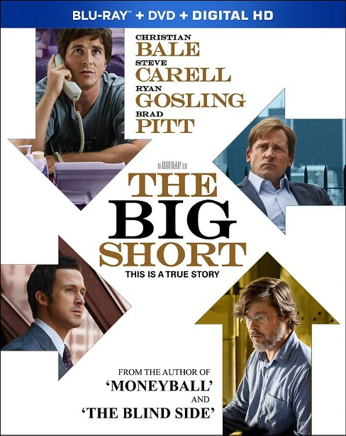 The Big Short Blu Ray - image 1 of 1