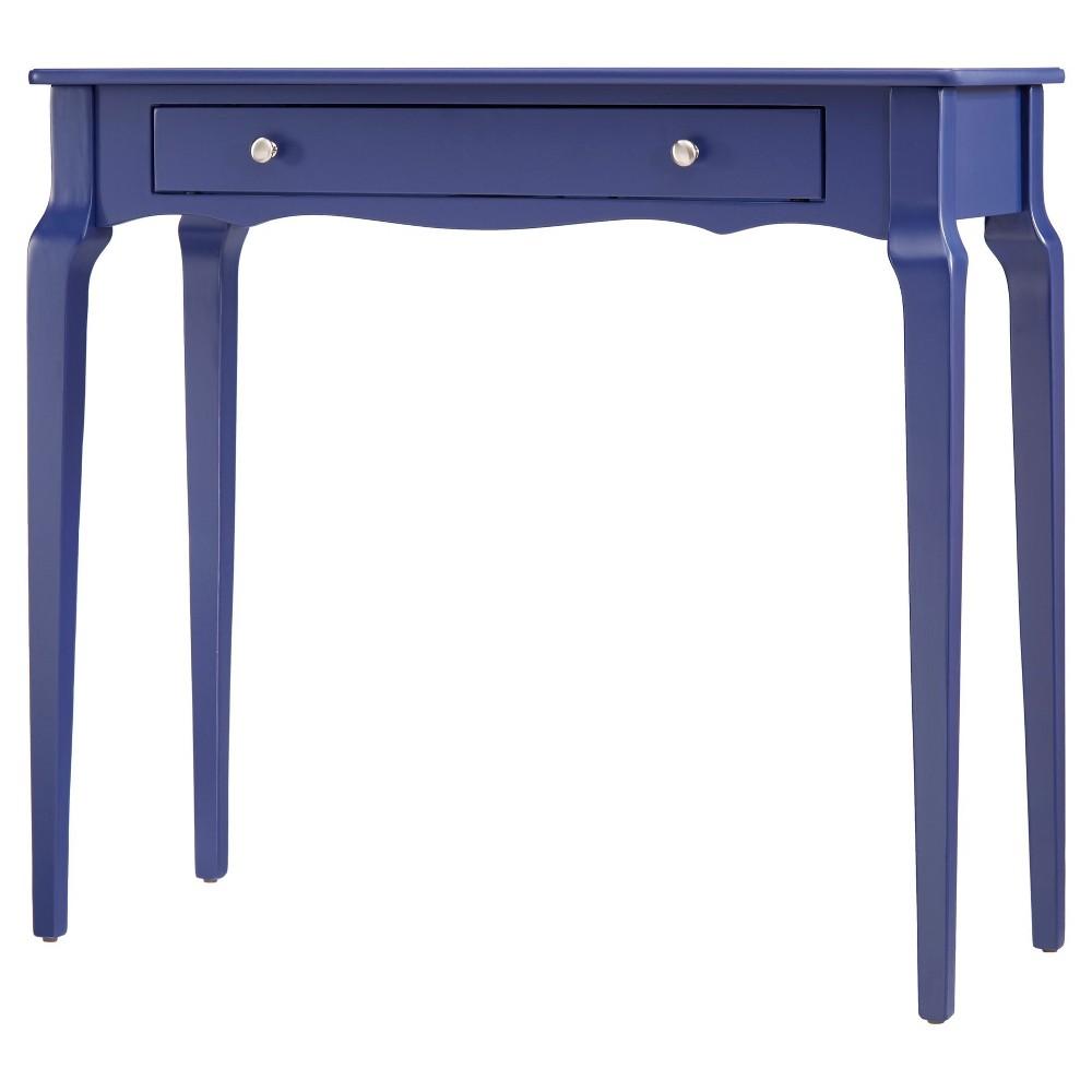 Muriel Console Table Royal Blue- Inspire Q, Royal Blue