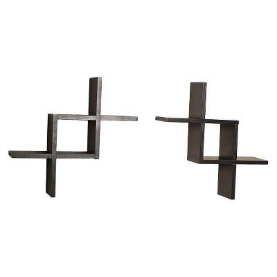 Reversed Criss Cross Shelves