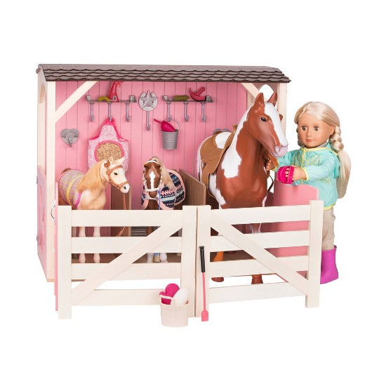 Our Generation Horse Barn - Saddle Up Stable image number null