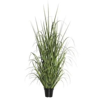 "Artificial Ryegrass in Pot (36"") - Vickerman"