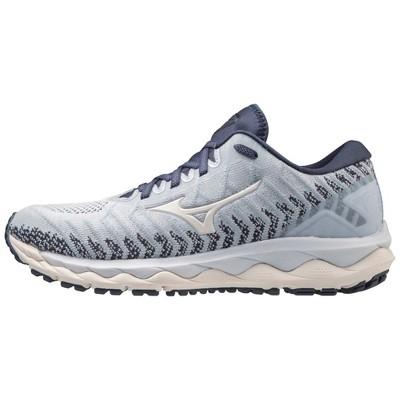 Mizuno Womens Wave Sky 4 Waveknit™ D (Wide) Running Shoe