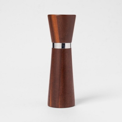 Carbonized Acacia Small Salt Shaker - Threshold™