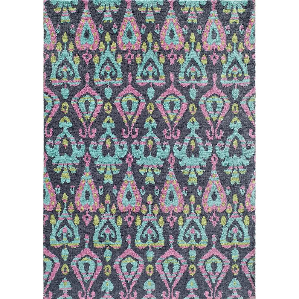 Ikat Paisley Rug - ( 5' x7') - Momeni, Multicolored