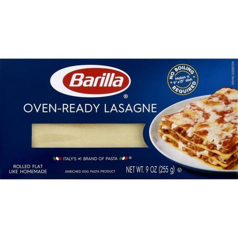 Barilla Oven Ready Lasagna Noodles - 9oz - image 1 of 4