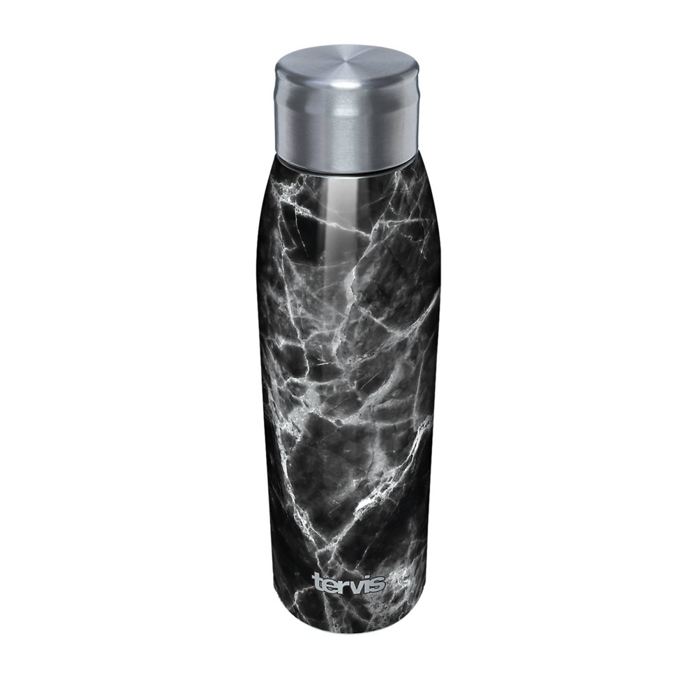 Reviews Tervis 17oz Stainless Steel Water Bottle - Black Marble