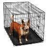 Oxgord Paws & Pals Two Door Wire Pet Crate - image 2 of 3