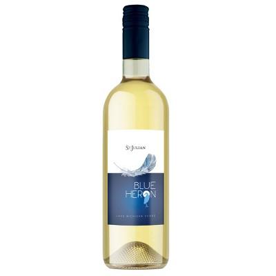 St. Julian Blue Heron White Blend Wine - 750ml Bottle