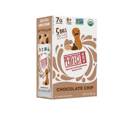 Perfect Kids Chocolate Chip Bar - 1.06oz/5ct