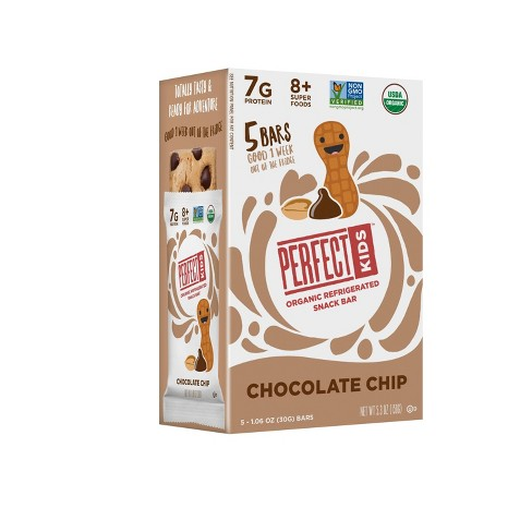 Perfect Kids Chocolate Chip Bar - 1.06oz/5ct - image 1 of 4