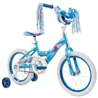 Huffy Disney Frozen 2 16u0022 Bike - Blue