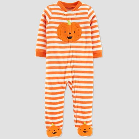 Baby's Halloween Sleep 'N Play - Just One You® made by carter's Orange - image 1 of 1