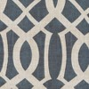Harper Blackout Window Curtain Panel - Elrene Home Fashions - image 4 of 4