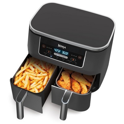 Nutri Ninja Foodi 6-in-1 8qt 2-Basket Air Fryer with DualZone Technology - DZ201