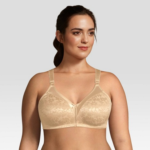 5df2ac418 Beauty By Bali® Women s Double Support Jacquard Wirefree Bra   Target
