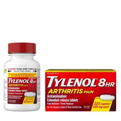 Tylenol 8 Hour Arthritis Pain Reliever Extended-Release Caplets - Acetaminophen