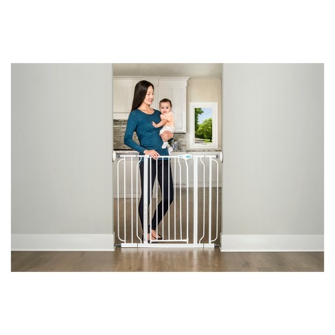 Regalo Wall Safe Extra Tall Walk Through Safety Gate Target