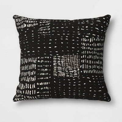 Outdoor Decorative Throw Pillow Black/White - Opalhouse™