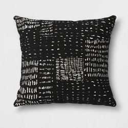 Outdoor Decorative Throw Pillow Black/White - Opalhouse™