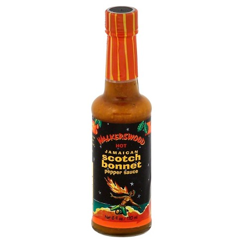 Walkerswood Hot Jamaican Scotch Bonnet Pepper Sauce 6 oz - image 1 of 1
