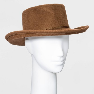 Women's Felt Boater Hat - Universal Thread™