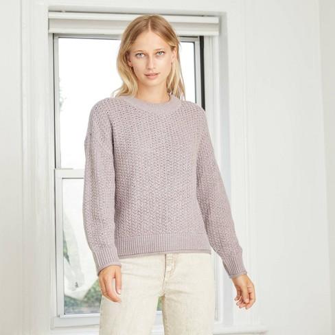 Women's Crewneck Pullover Sweater - Universal Thread™ : Target