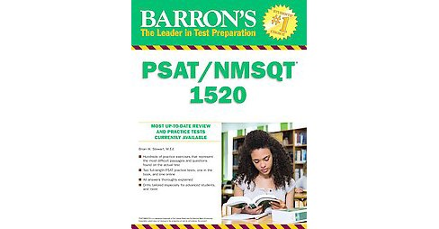 Barron's PSAT/NMSQT 1520 : Aiming for National Merit (Paperback) (Brian W. Stewart) - image 1 of 1