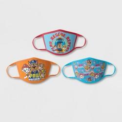 Kids' 3pk PAW Patrol Face Mask