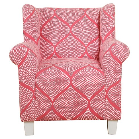 Kids' Accent Chair - Strawberry - HomePop - image 1 of 9