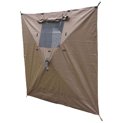 Quick-Set CLAM-WP-9897 Tear-Resistant Durable Wind Panels with Window, Set of 2