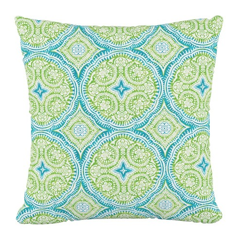 Outdoor Throw Pillow Besetta Seaglass - Skyline Furniture - image 1 of 4
