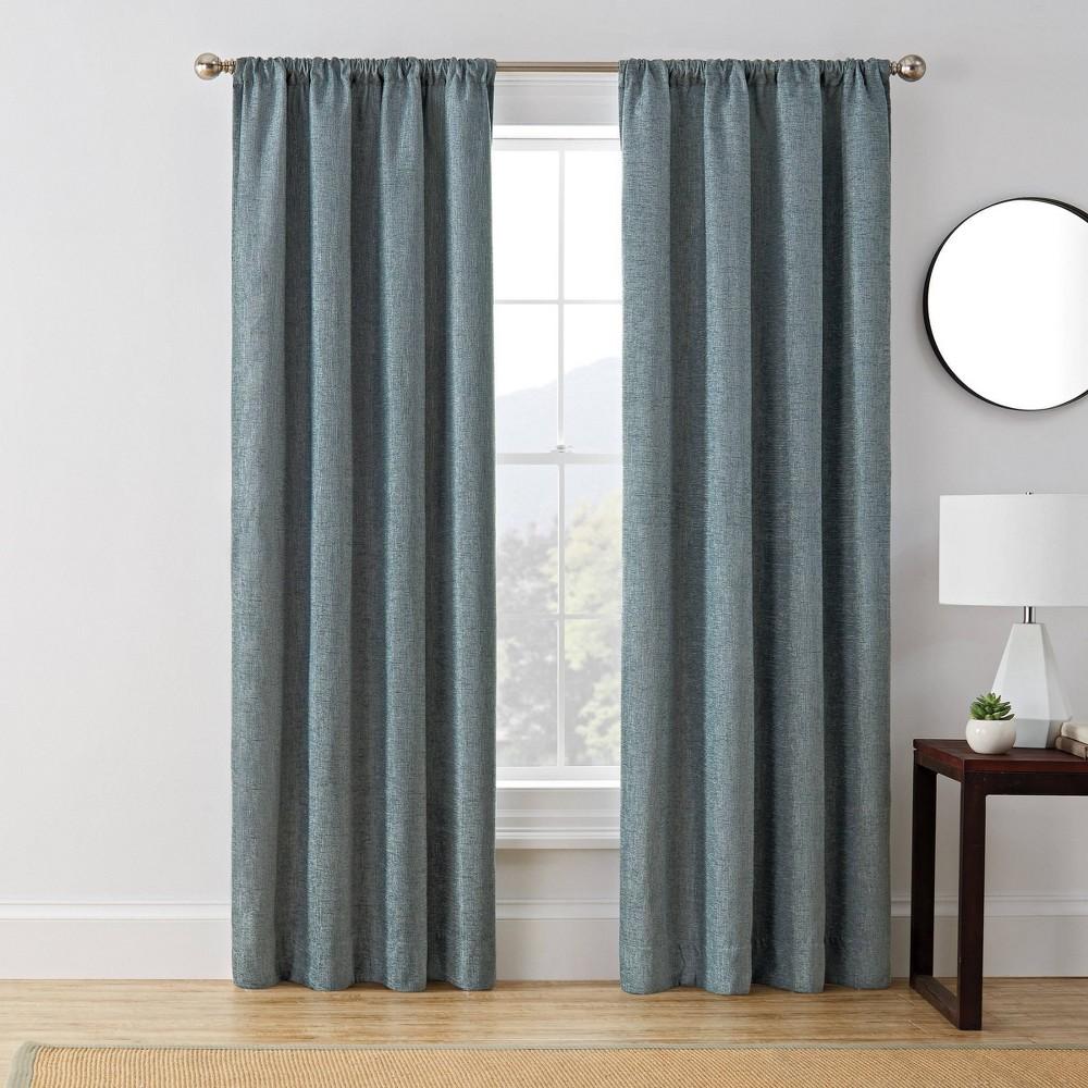 "Promos 63""x50"" Troy Room Darkening Window Curtain Panel  - Brookstone"
