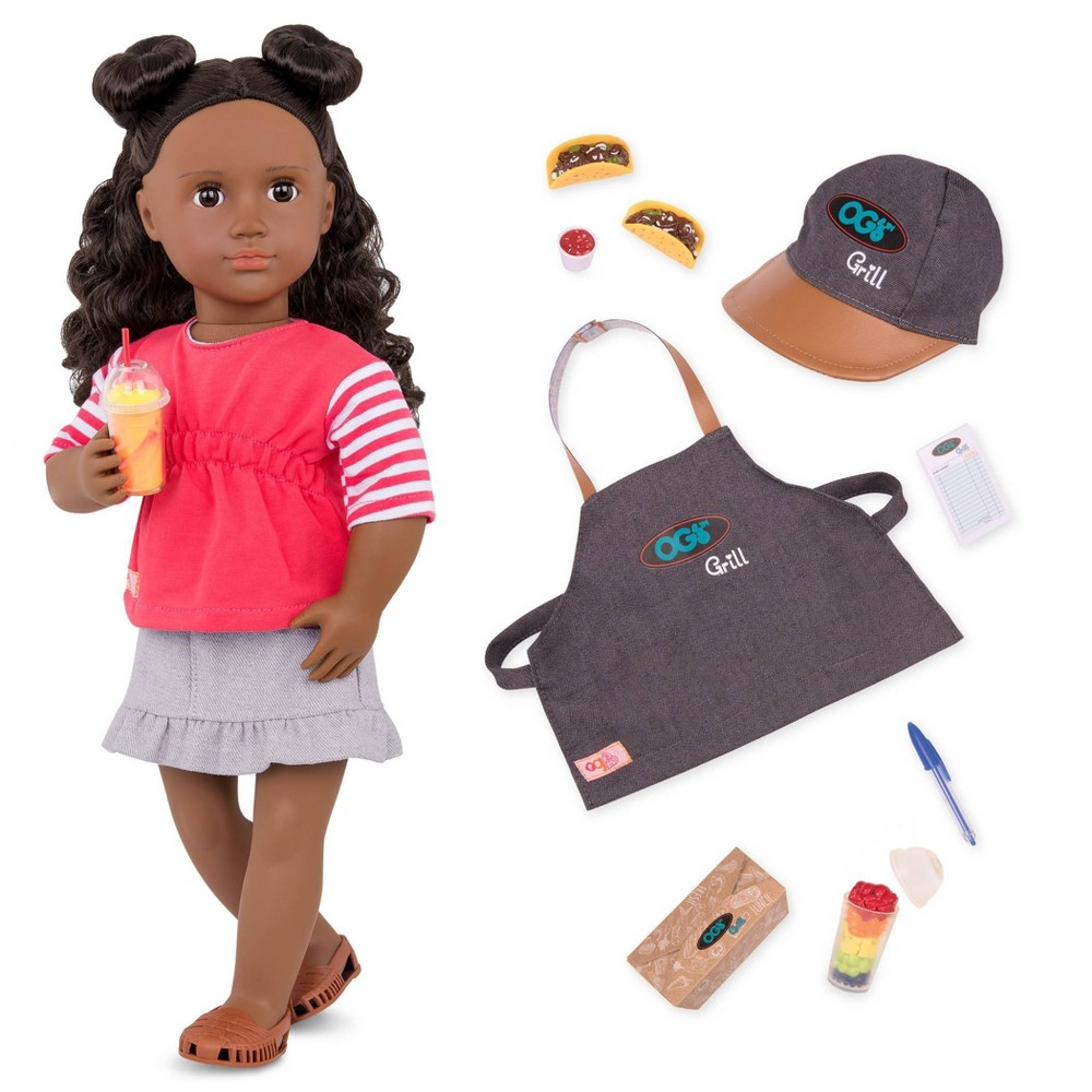 Our Generation 18 34 Posable Food Truck Doll With Accessories Macy