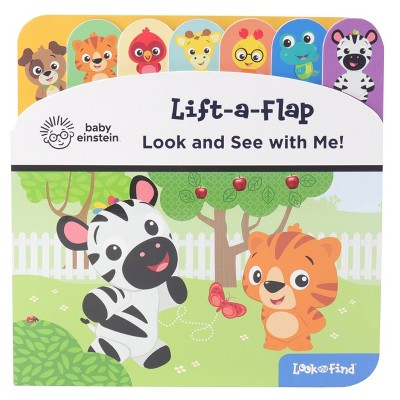 Baby Einstein Look and See with Me! Lift-a-Flap Look and Find (Board Book)
