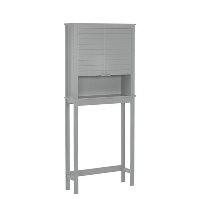 Madison Collection Spacesaver Etagere Gray - RiverRidge Home