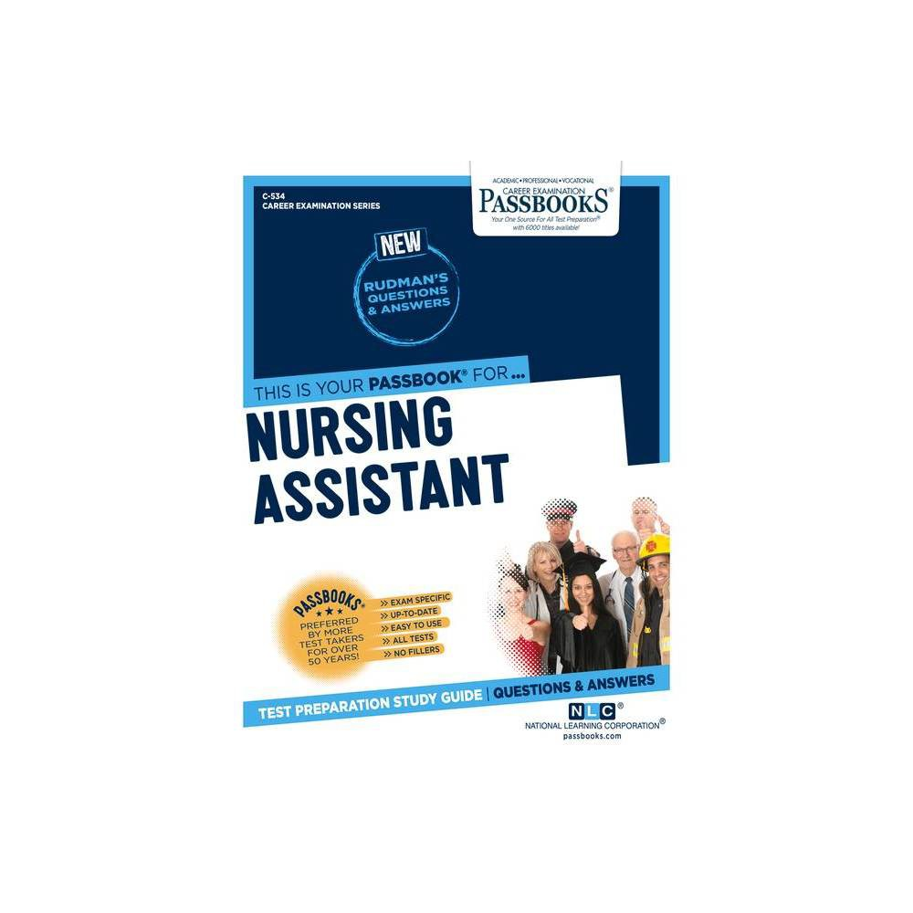 Nursing Assistant Career Examination By National Learning Corporation Paperback