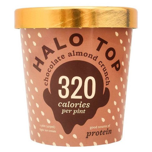 Halo Top Chocolate Almond Crunch Ice Cream - 16oz - image 1 of 3