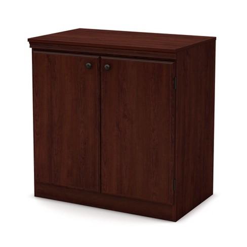 Morgan Storage Cabinet Royal Cherry - South Shore - image 1 of 3