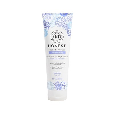 The Honest Company Truly Calming Face & Body Lotion Lavender - 8.5 fl oz
