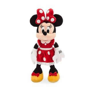 Disney Mickey Mouse & Friends Minnie Mouse Small 14'' Plush - Red - Disney store