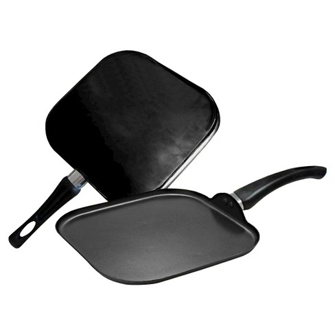 Gourmet Chef Nonstick Square Griddle Black - image 1 of 1